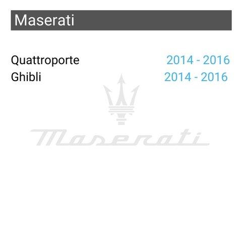 Беспроводной CarPlay и Android Auto адаптер для Maserati Quattroporte / Ghibli Превью 1