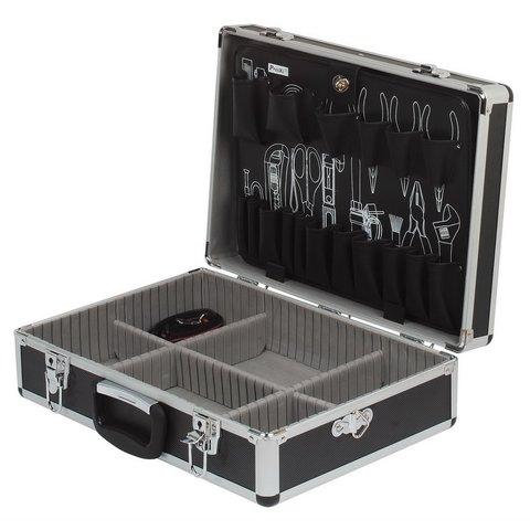 Кейс для інструментів Pro'sKit 8PK-750N з алюмінієвим каркасом та 1 перегородкою