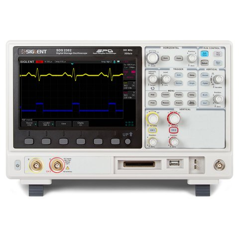 Цифровий осцилограф SIGLENT SDS2302 Прев'ю 1