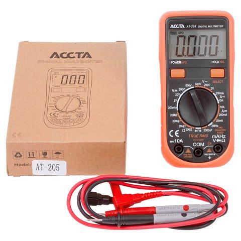Цифровий мультиметр Accta AT-205 Прев'ю 5