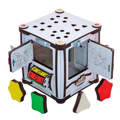 Бізіборд GoodPlay Кубик для розвитку з підсвіткою (17×17×18) Прев'ю 4