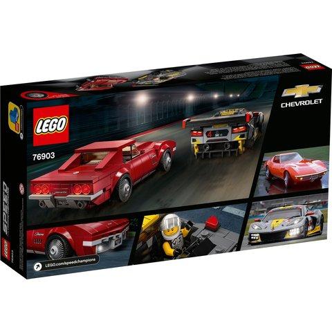 Конструктор LEGO Скоростные гонки Chevrolet Corvette 76903 Превью 7